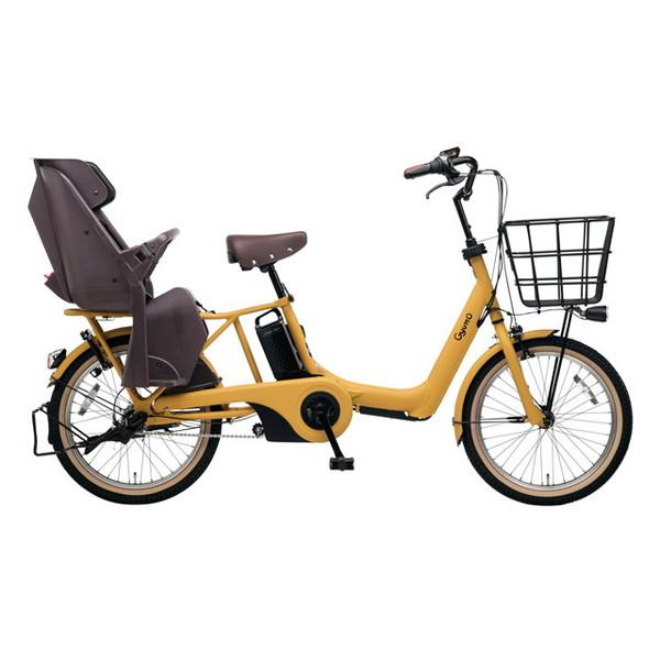 【送料無料】PANASONIC BE-ELAD03-Y マットハニー ギュット・アニーズ・DX [電動アシスト自転車(20インチ)]【同梱配送不可】【代引き不可】【本州以外配送不可】
