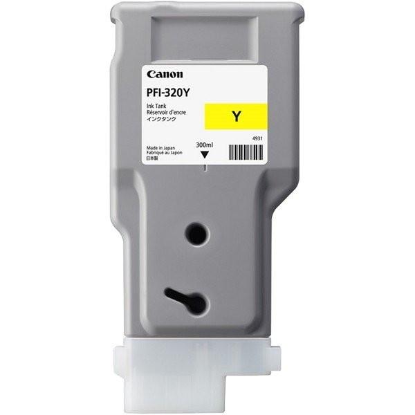 【送料無料】CANON PFI-320 Y [イエロー] [インクタンク]【同梱配送不可】【代引き・後払い決済不可】【沖縄・北海道・離島配送不可】