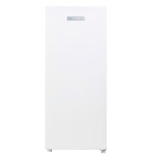 【送料無料】冷凍庫 小型 家庭用 前開き ハイアール(Haier) JF-NUF138B-W ホワイト 冷凍庫(138L・右開き) 新生活 一人暮らし 急冷凍モード