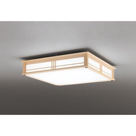 【送料無料】オーデリック SH8290LDR [和風LEDシーリングライト (~8畳/調色・調光) リモコン付き スクエアタイプ]