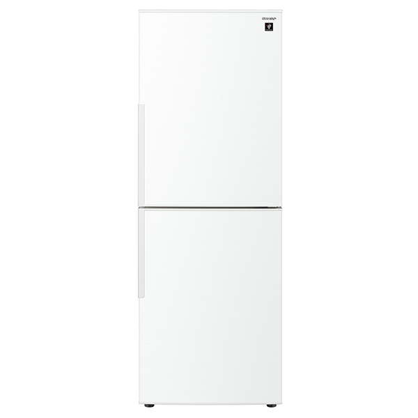 【送料無料】冷蔵庫 シャープ SHARP SJ-PD28E-W 白 ホワイト 280L プラズマクラスター 右開き 節電 メガフリーザー 脱臭 抗菌 同棲 カップル 2人暮らし 2ドア
