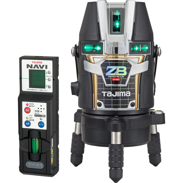 タジマ ZEROBLN-KJC NAVI ZERO [レーザー墨出し器(BLUEリチウム-KJC)]