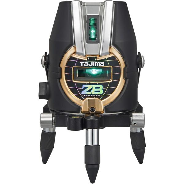 鮮視度300のギラつかないブルーグリーンレーザー。 タジマ ZEROB-KJY ZERO [レーザー墨出し器(BLUEーKJY)]