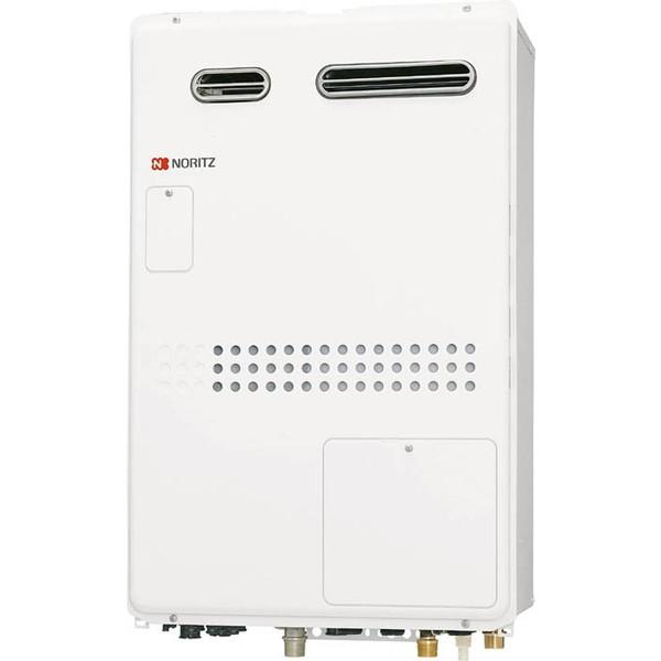 【送料無料】NORITZ GTH-2444AWXD-1 BL-LP [ガスふろ給湯器(プロパンガス用・24号・フルオート・温水暖房付・屋外壁掛形)]
