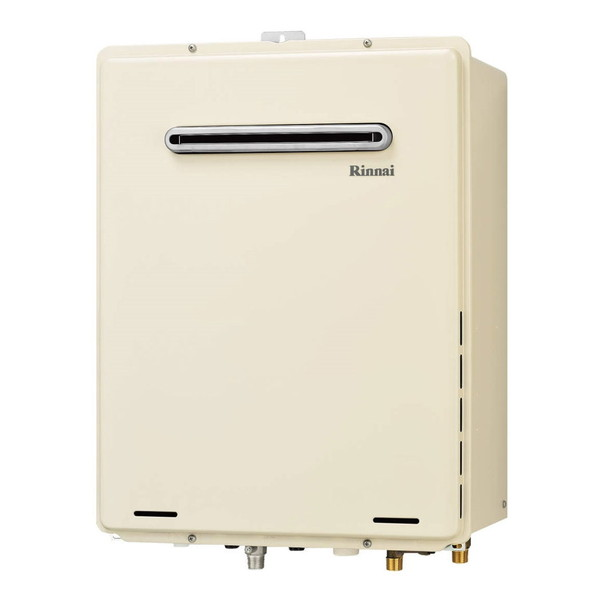 【送料無料】Rinnai RUF-A2005AW(B)-13A [ガスふろ給湯器(都市ガス用)屋外壁掛・PS設置型 20号フルオート]