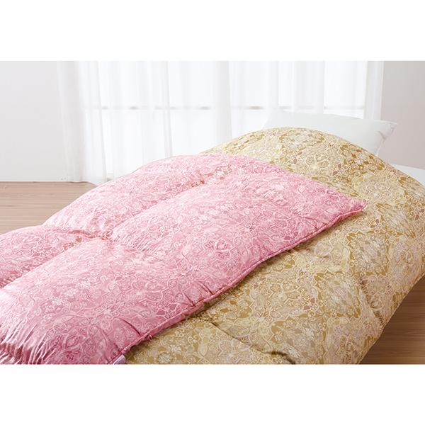 【送料無料】ロマンス小杉 1408-2800-6100 ロマンスナイト 掛けふとん シングル ピンク