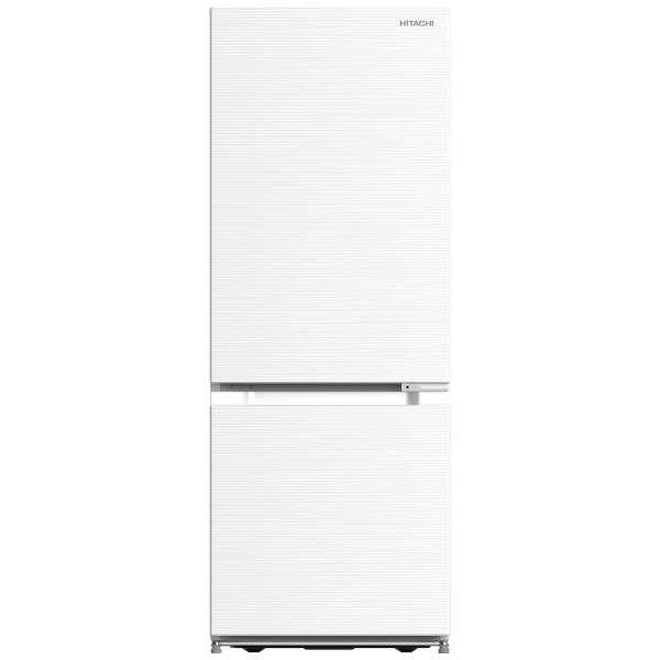 【送料無料】日立 RL-154JA(W) アイボリーホワイト [2ドア冷蔵庫 (154L・右開き)]
