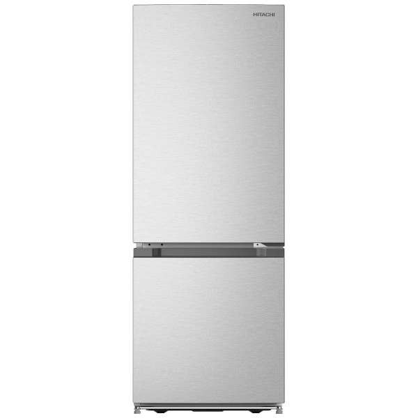 【送料無料】日立 RL-154JA(S) プラチナシルバー [2ドア冷蔵庫 (154L・右開き)]