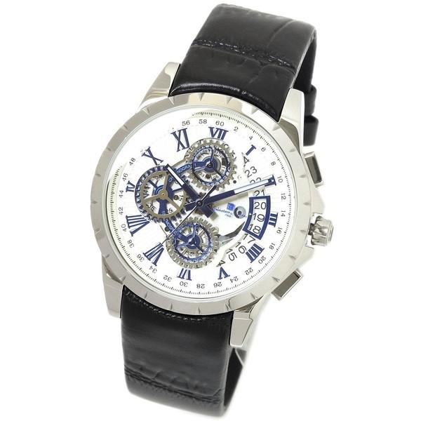 【送料無料 Marra】Salvatore メンズ腕時計] [クロノクオーツ Marra SM13119S-SSWHBL [クロノクオーツ メンズ腕時計], ブティックVR:29397069 --- sunward.msk.ru