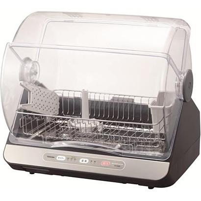 迅速な対応で商品をお届け致します コンパクトに置けて ハイパワー清潔乾燥 丸洗いできる ステンレスクリーントレイ お買い得品 で食器を清潔に保つ ブルーブラック 食器乾燥機 VD-B10S-LK 6人用 東芝