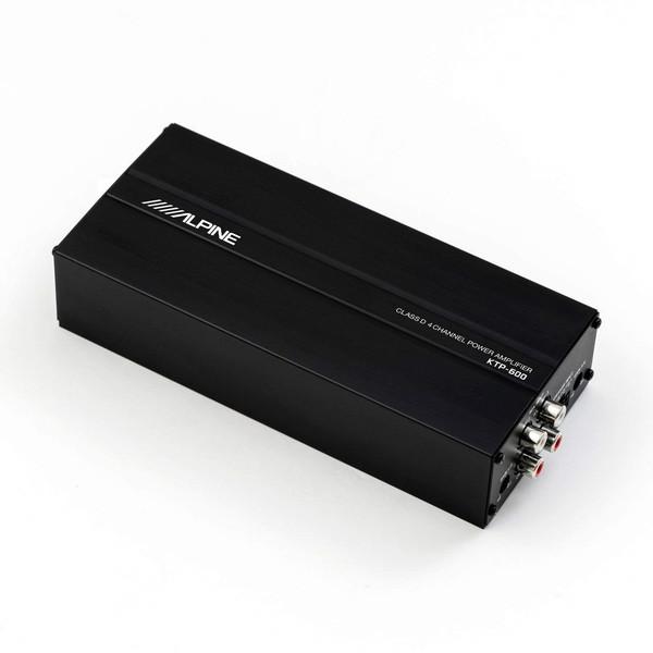 【送料無料】ALPINE KTP-600 [4チャンネル コンパクト デジタルパワーアンプ]