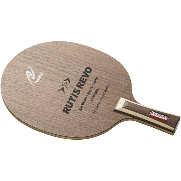 【送料無料】Nittaku NC-0199 ルーティスレボ C [卓球ラケット ペンホルダー(中国式)]