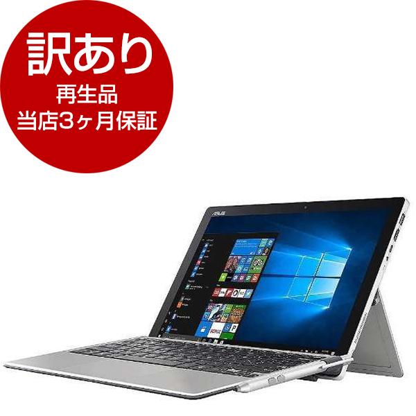 【送料無料】【再生品 当店3ヶ月保証付き】ASUS T304UA-7100 グレー TransBook [タブレットパソコン 12.6型ワイド液晶 SSD128GB]【アウトレット】