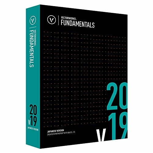 【送料無料】A&A Vectorworks Fundamentals 2019 スタンドアロン版 [CADソフト]