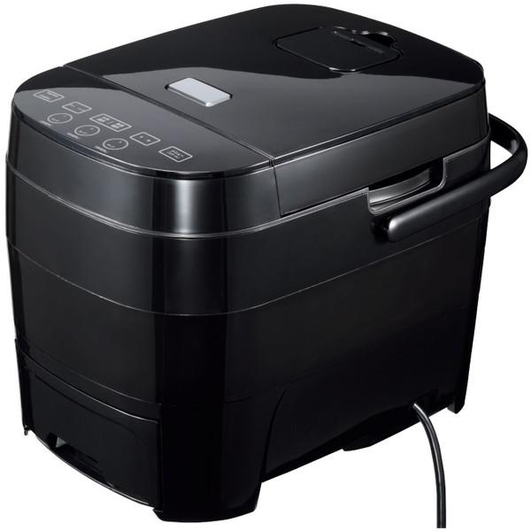 【送料無料】ヒロコーポレーション HTC-001BK ブラック [糖質カット炊飯器(5合炊き)]