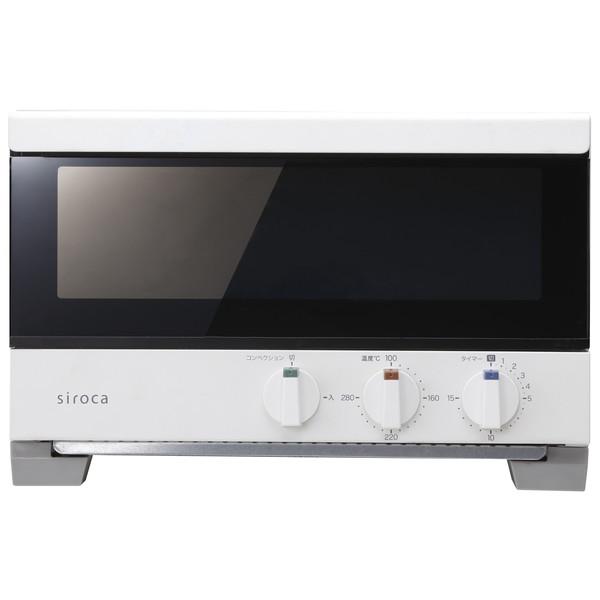 【送料無料】siroca ST-4A251(W) ホワイト すばやき [プレミアムオーブントースター(4枚焼き)]【クーポン対象商品】