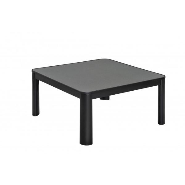 【送料無料】おおたけ ECK-YP758-BK ブラック [カジュアルこたつ(75×75cm)]