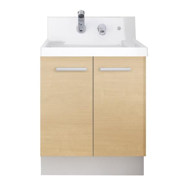 LIXIL K1N4-605SY/LP2H K1シリーズ [洗面化粧台本体(間口600mm・両開きタイプ・シングルレバーシャワー水栓)]