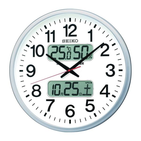 【送料無料】SEIKO 大型電波掛時計 KX237S