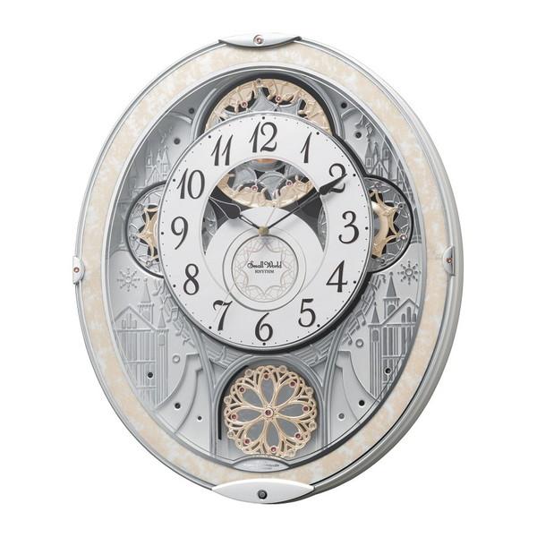 【送料無料】リズム時計工業 スモールワールド ノエル 8MN407RH03