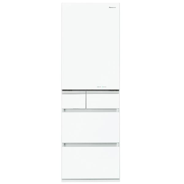 【送料無料】PANASONIC NR-E454PX-W スノーホワイト [冷蔵庫(450L・右開き)] 【代引き・後払い決済不可】【離島配送不可】