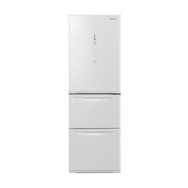 【送料無料】PANASONIC NR-C370C-W ピュアホワイト [冷蔵庫(365L・右開き)] 【代引き・後払い決済不可】【離島配送不可】