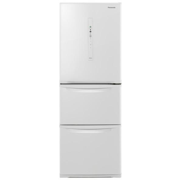 PANASONIC NR-C340C-W ピュアホワイト [冷蔵庫(335L・右開き)] 【代引き・後払い決済不可】【離島配送不可】