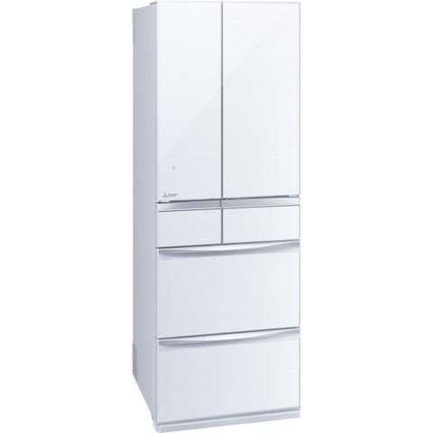 【送料無料】MITSUBISHI MR-MX46E-W クリスタルホワイト 置けるスマート大容量 MXシリーズ [冷蔵庫(455L・フレンチドア)]