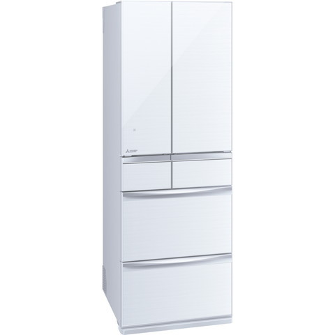 MITSUBISHI MR-MX46E-W クリスタルホワイト 置けるスマート大容量 MXシリーズ [冷蔵庫(455L・フレンチドア)] 【代引き・後払い決済不可】【離島配送不可】