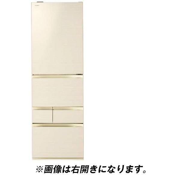 東芝 GR-R470GWL(ZC) ラピスアイボリー VEGETA [冷蔵庫(465L・左開き)] 【代引き・後払い決済不可】【離島配送不可】