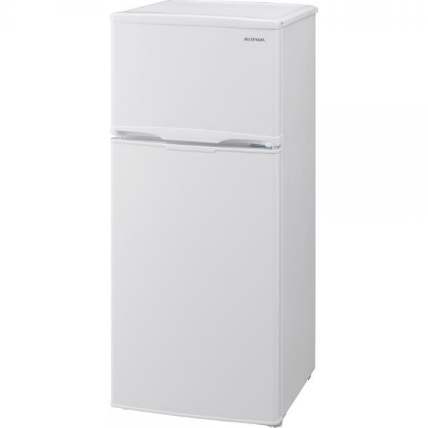 【送料無料】アイリスオーヤマ AF118-W [冷蔵庫(118L・右開き) ホワイト 2ドア 料理 調理 一人暮らし 独り暮らし 1人暮らし 家電 単身 コンパクト ]