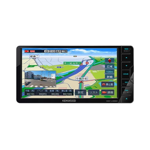【送料無料】KENWOOD MDV-L406W 彩速ナビ [ワンセグTVチューナー内蔵DVD/USB/SD AVナビゲーションシステム]