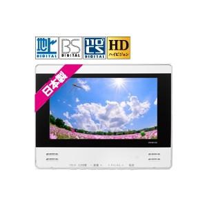 TWINBIRD VB-BS125W [12V型浴室テレビ(地上・BS・110度CS対応)]