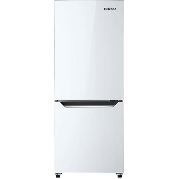 【送料無料】Hisense HR-D15C パールホワイト [冷蔵庫(150L・右開き)]