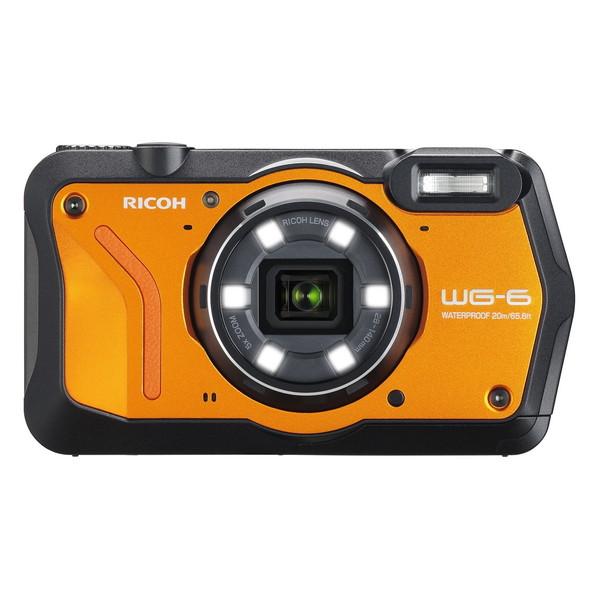 【送料無料】RICOH オレンジ WG-6 WG-6 オレンジ オレンジ オレンジ [コンパクトデジタルカメラ(2000万画素)], メディストック:d9e11a62 --- sunward.msk.ru