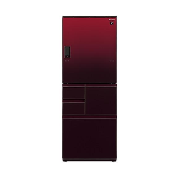 【送料無料】SHARP SJ-WA50E-R グラデーションレッド [冷蔵庫(502L・左右開き)]