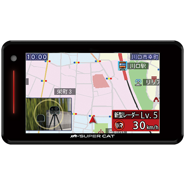 レーダー探知機 GPS ユピテル YUPITERU GWR503sd タッチパネル搭載 日本製 ゲリラオービス オービス ラウンドアバウト