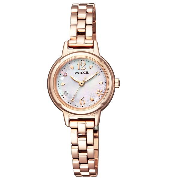 【送料無料】CITIZEN(シチズン) KP3-619-95 ウィッカ 20周年記念限定モデル [ソーラー腕時計(レディース)]