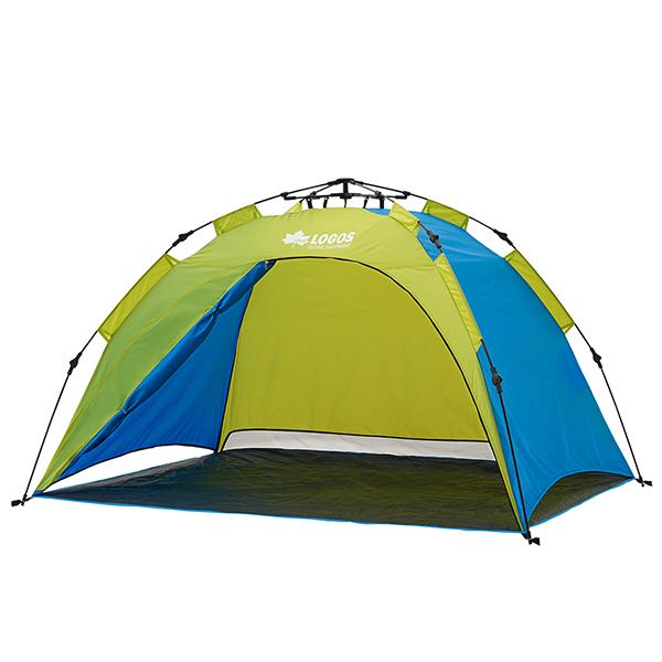 テント ワンタッチテント サンシェード ロゴス LOGOS Q-TOP フルシェード 200 No.71600503 ビーチテント 3人 4人 3人用 4人用 フルクローズ UV キャンプ アウトドア 収納