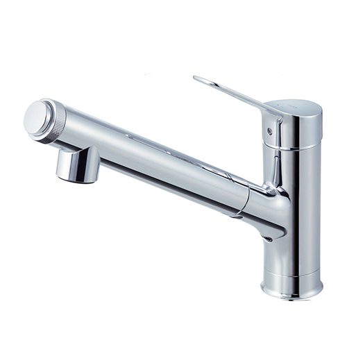 【送料無料】LIXIL JF-AJ461SYX-JW [キッチン用浄水器内蔵シングルレバー混合水栓]