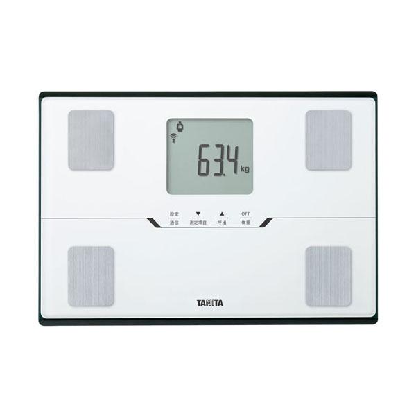 【送料無料】体組成計 タニタ BC-768-WH パールホワイト 体重計 TANITA Bluetooth アプリで管理 スマホ対応 体脂肪計 内臓脂肪 BMI 体内年齢 筋肉量 健康管理 ダイエットコンパクト BC768