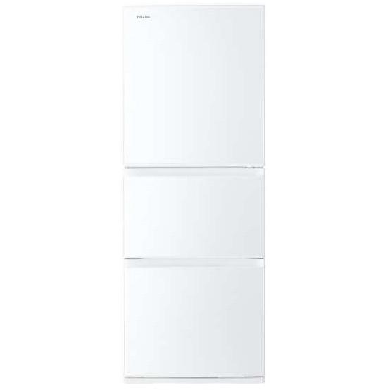 【送料無料】東芝 GR-R33S(WT) グレインホワイト VEGETA [冷蔵庫 (330L・右開き)]【代引き・後払い決済不可】