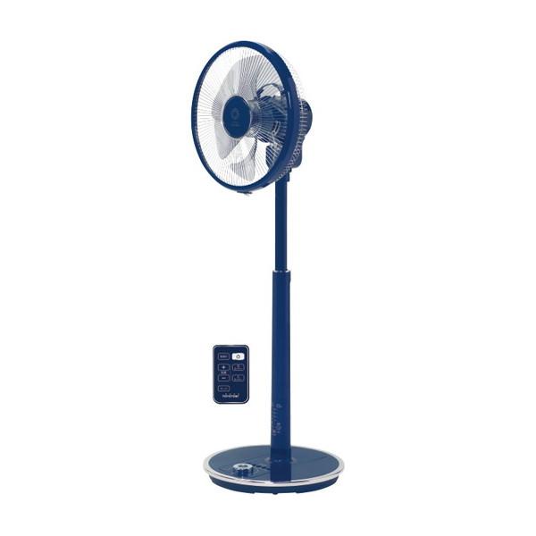【送料無料】TOYOTOMI FS-D30JHR-A ブルー [DCモーター搭載リビング扇風機(7枚羽根・リモコン付)]