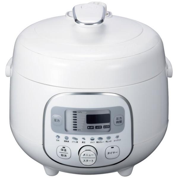 ヒロコーポレーション HR-P07W [電気圧力調理鍋(2.1L)]