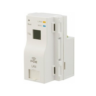 【送料無料】因幡電機産業 AC-PD-WAPUM 電話ポート付 [Wi-Fiアクセスポイント PoE受電 300Mbps TEL]