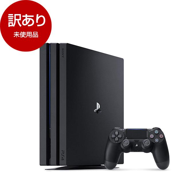 【未使用品】SIE CUH-7200BB01(メーカー保証6カ月以上) ジェット・ブラック [PlayStation4 Pro(HDD1TB)]【アウトレット】