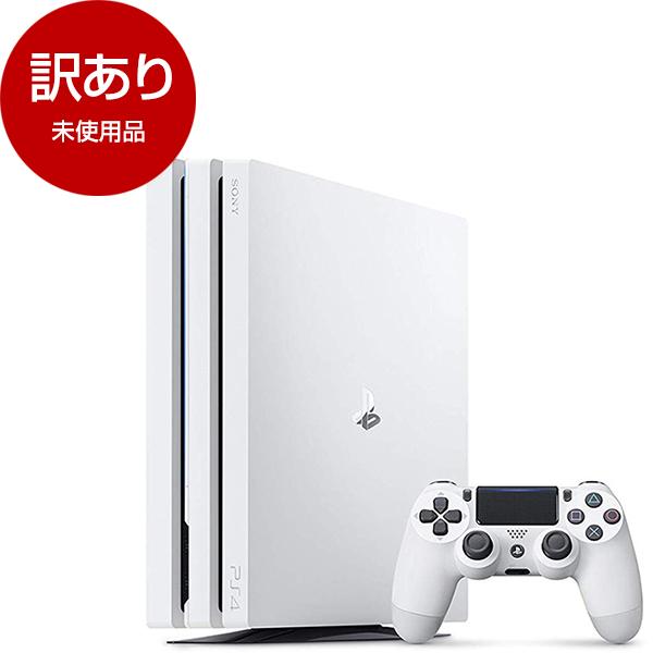 【送料無料】【未使用品】SIE CUH-7200BB02(メーカー保証6カ月以上) グレイシャー・ホワイト [PlayStation 4 Pro(1TB)]【アウトレット】
