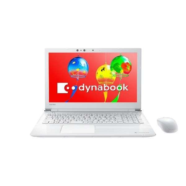 【送料無料】東芝 PT55GWP-BEA2 T55/GW リュクスホワイト dynabook dynabook T55 T55/GW [ノートパソコン HDD1TB 15.6型ワイド液晶 HDD1TB ブルーレイドライブ], 最新最全の:457518aa --- sunward.msk.ru