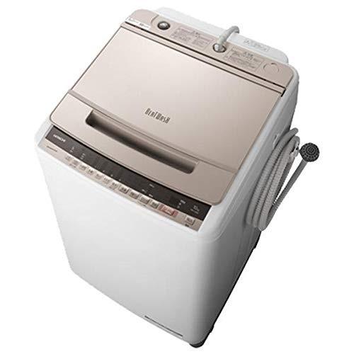 日立 BW-V100E シャンパン ビートウォッシュ [全自動洗濯機(10.0kg)]