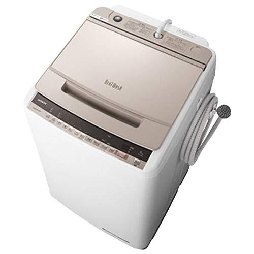 日立 BW-V80E(N) シャンパン ビートウォッシュ [全自動洗濯機(8.0kg)]